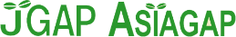 JGAP/ASIA GAPのロゴ