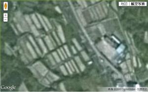 Google航空写真