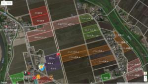 地図全画面表示の状態
