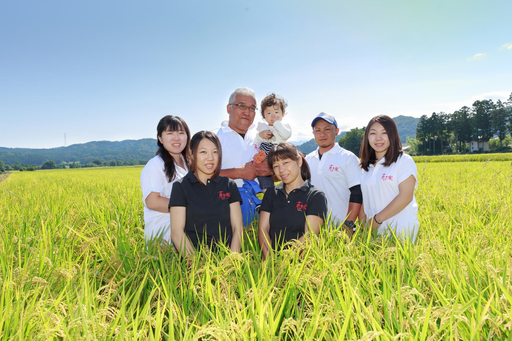 新潟県上越市 株式会社花の米様